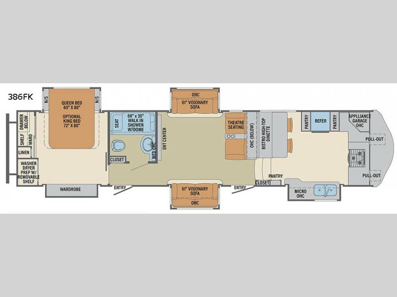 New 2018 Palomino Columbus F386fk Fifth Wheel At Campers