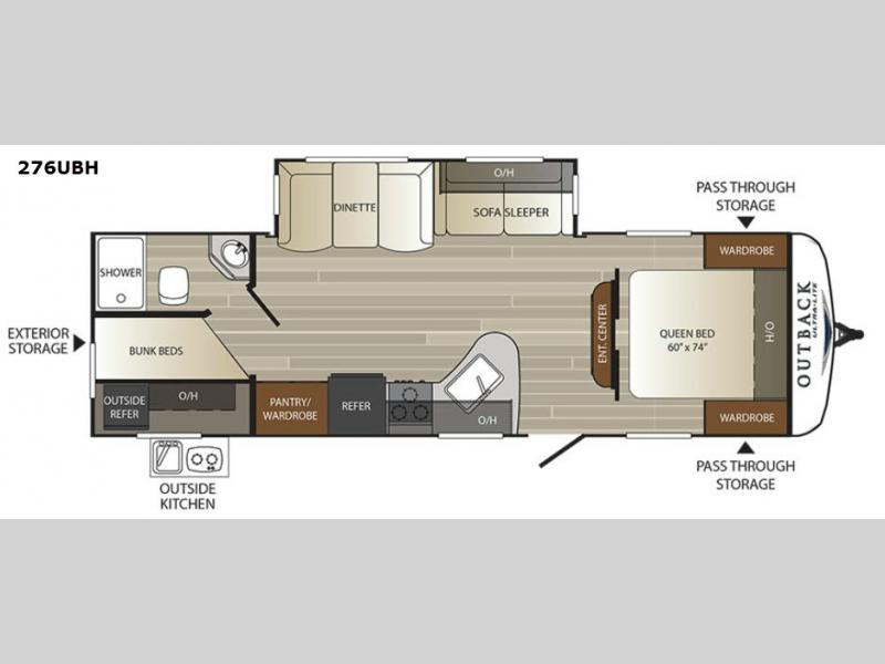 Outback Ultra Lite Travel Trailer Rv Sales 13 Floorplans