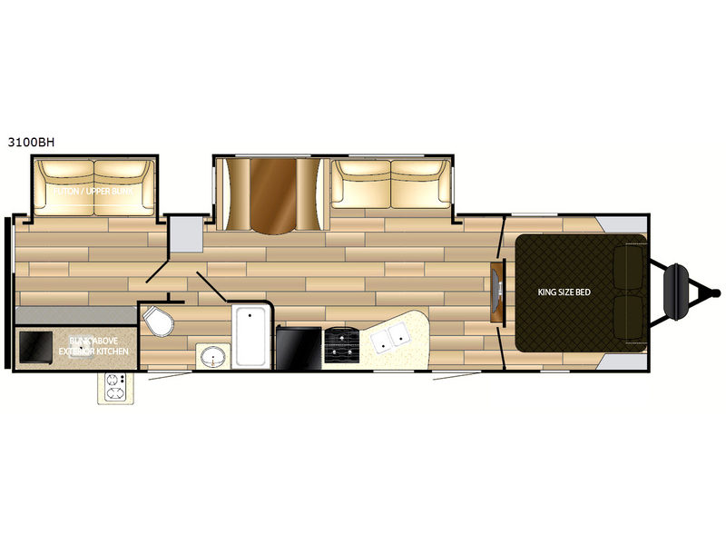 Mpg Travel Trailer Rv Sales 11 Floorplans