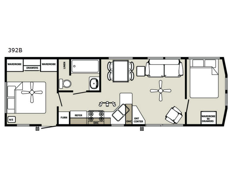 Holiday Home Builders Floor Plans: Quailridge Holiday Cottages Park Models