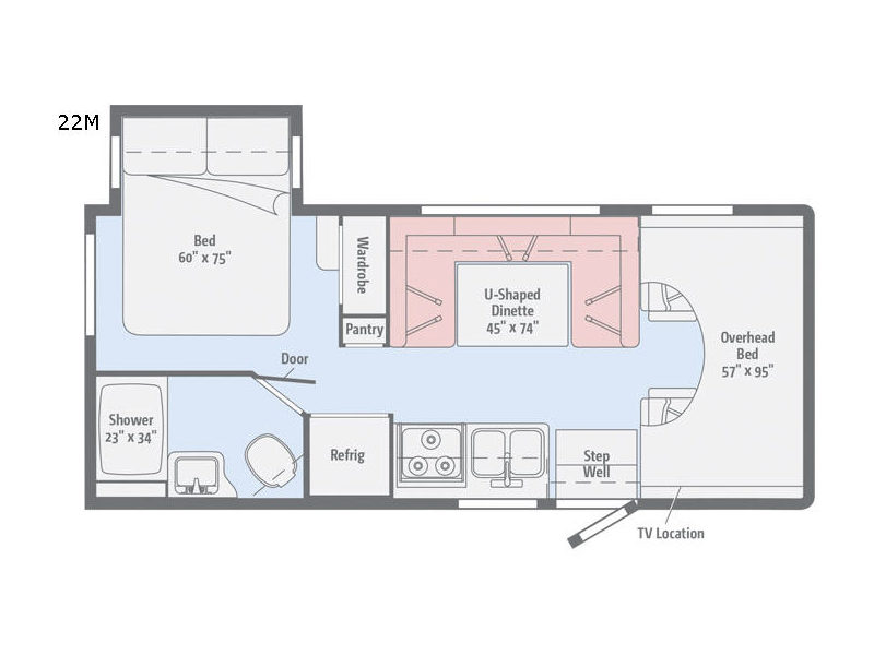 Minnie Winnie Motor Home Class C Rv Sales 7 Floorplans