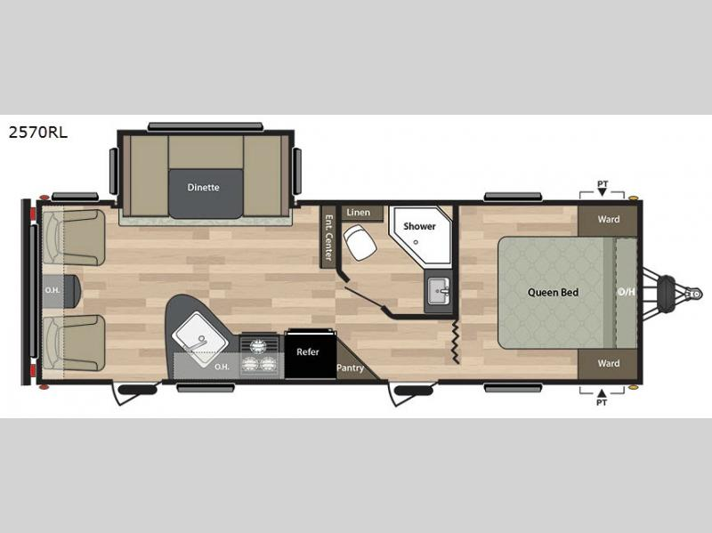 Keystone Springdale Travel Trailer Floor Plans