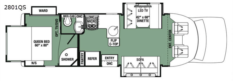 Forester Grand Touring Series Motor Home Class C | RV Sales | 1