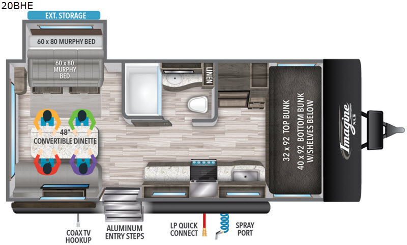 Imagine XLS Travel Trailer | RV Sales | 8 Floorplans