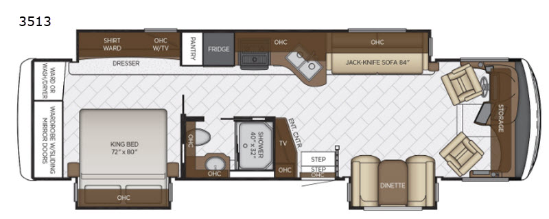 New 2019 Newmar Canyon Star 3513 Motor Home Cl A at Wilkins RV ... Newmar Th Wheel Wiring Diagram on 5th wheel mounting diagram, 5th wheel lubrication, 5th wheel plumbing diagram, 5th wheel safety, 5th wheel system, 5th wheel connectors, 5th wheel tires, 5th wheel repair, 5th wheel installation, 5th wheel assembly, fifth wheel diagram, 18 wheel truck trailer diagram, 5th wheel honda, 5th wheel cable diagram, 5th wheel dimensions, 5th wheel tractor, 5th wheel generator, 5th wheel accessories, 5th wheel tools, 5th wheel parts,
