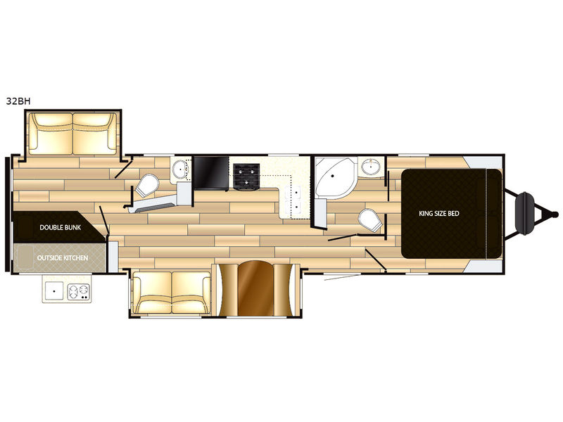 Radiance Ultra Lite Travel Trailer Rv Sales 13 Floorplans