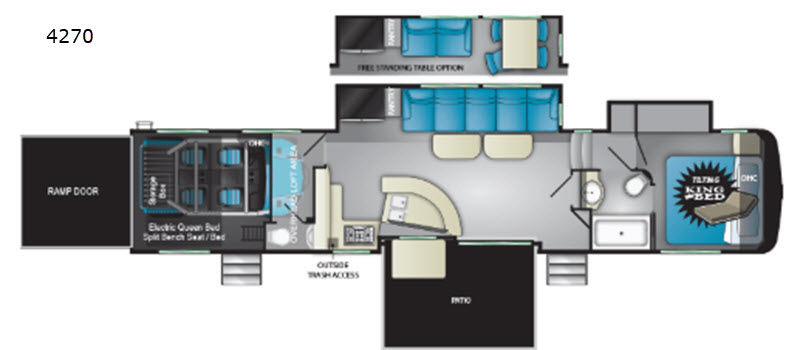 cyclone toy hauler fifth wheel rv sales 9 floorplans rh exploreusa com