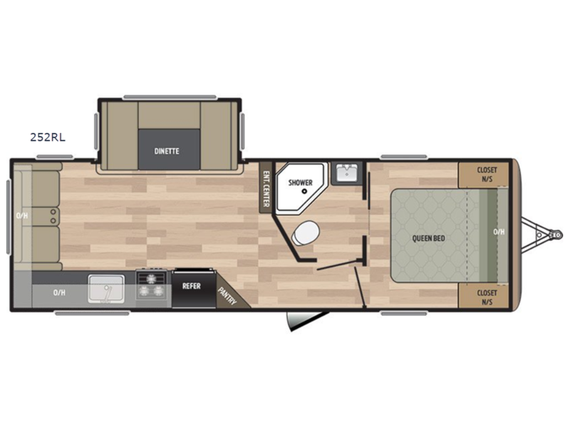 Springdale Travel Trailer Floor Plans