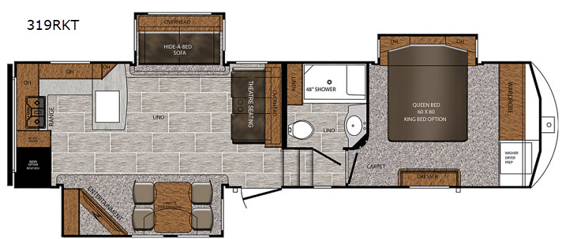 Crusader Fifth Wheel Rv Sales 19 Floorplans