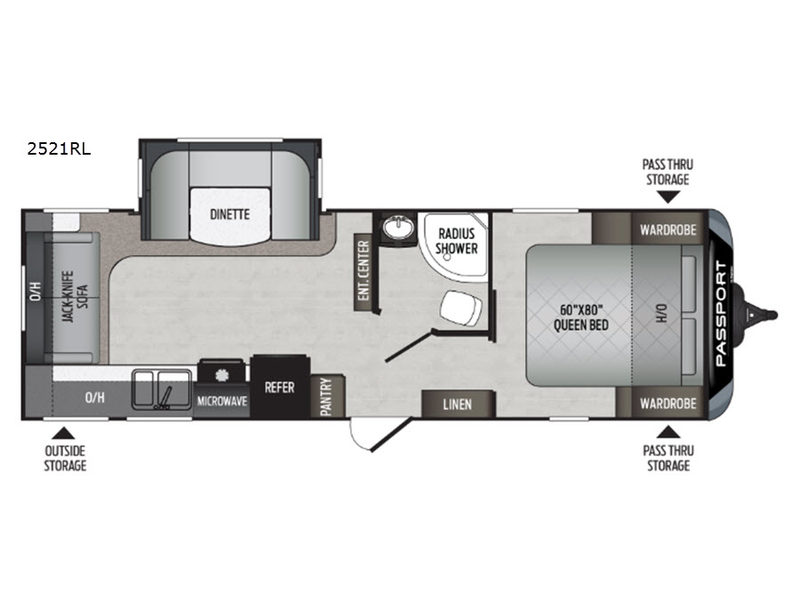 Passport Travel Trailer Rv Sales 21 Floorplans