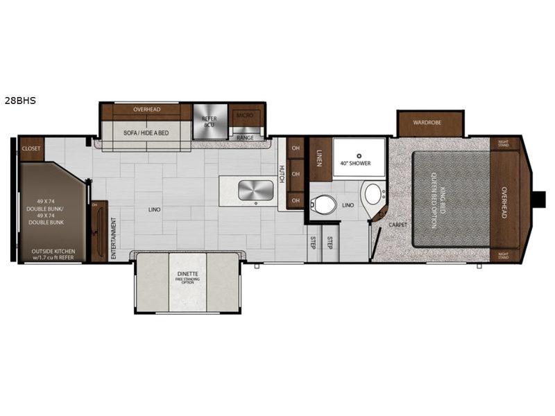 Impression Fifth Wheel Rv Sales 5 Floorplans