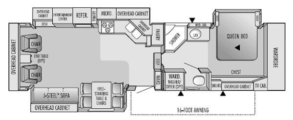 Used 2004 Jayco Legacy 3610 RLTS Fifth Wheel at Campers Inn ... Jayco Rlts Wiring Diagram on