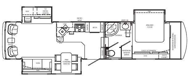 Used 2002 Holiday Rambler Presidential Suite 36SKT Fifth Wheel at ...