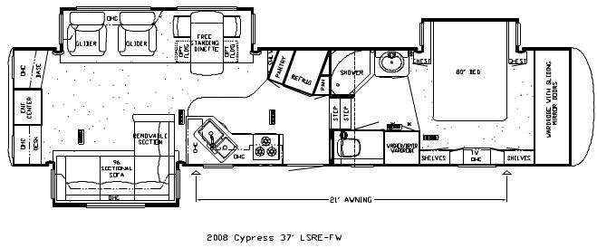 Used 2008 Newmar Cypress 37lsre Fifth Wheel At Campers Inn