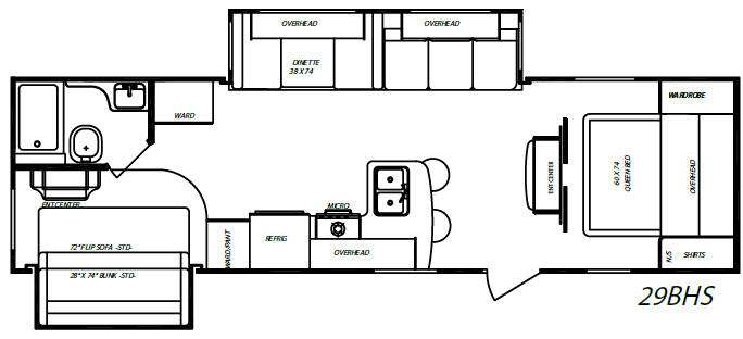 New 2017 Forest River Rv Rockwood Wind Jammer 3008w 640060 29 in addition Used 2010 Keystone Rv Bullet 246rbs 397438 29 moreover Used 2009 Gulf Stream Rv Gulfstream 29bhs Gulf Breeze 271858 29 in addition Used 2004 R Vision Trail Lite 8306 S 213456 29 together with Used 2010 Cruiser Fun Finder X X 215 Wsk 394085 29. on sofa bed for travel trailer