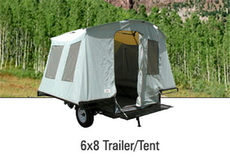 New 2016 Jumping Jack 6x8 Trailer Tent Trailer Folding Pop