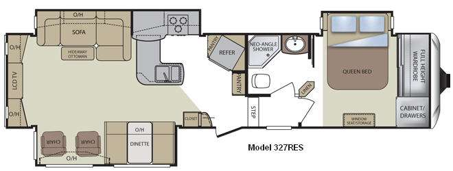 Used 2011 Keystone RV Cougar 327RES Fifth Wheel At Moore's