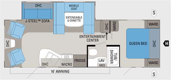 Floorplan - 2011 Jayco Jay Flight 26RLS