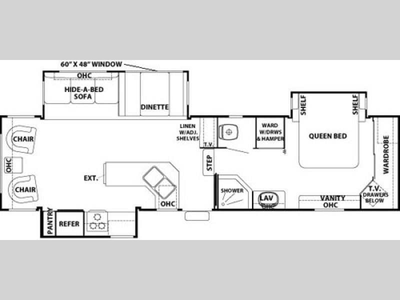 2002 Cedar Creek 5th Wheel Floor Plans Gurus Floor