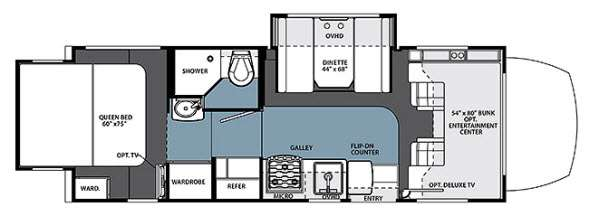New 2015 Forest River Rv Solera 24r Motor Home Class C