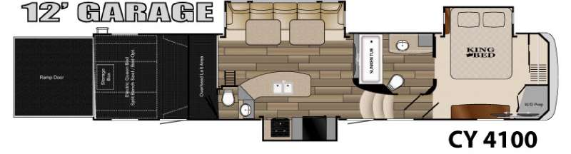new 2015 heartland cyclone 4100 king toy hauler fifth. Black Bedroom Furniture Sets. Home Design Ideas