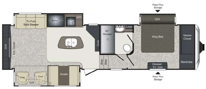 New 2015 keystone rv laredo 312re fifth wheel at pleasureland rv floorplan 2015 keystone rv laredo 312re asfbconference2016