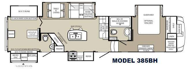 New 2015 Palomino Columbus F385bh Fifth Wheel At Campers