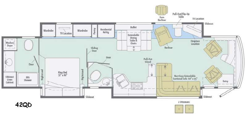 Used Class A Motorhomes besides Jayco Seneca Floor Plans additionally 2015 Itasca Ellipse 42qd Bath   1 2 W Aqua Hot King Bed Used Diesel Pusher Tx I2093688 together with Florida also Mid June 2016 Rv Recall. on itasca motorhomes ellipse 2015