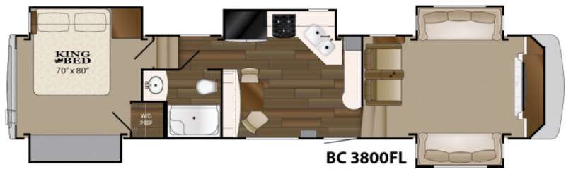 New 2016 Heartland Big Country 3800 FL Fifth Wheel At Wilkins RV