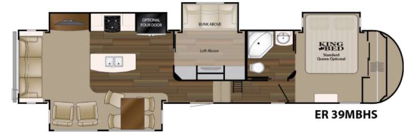New 2016 Heartland Elkridge 39mbhs Fifth Wheel At Wilkins
