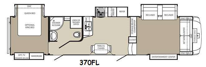 New Palomino Columbus F370FL Fifth Wheel For Sale