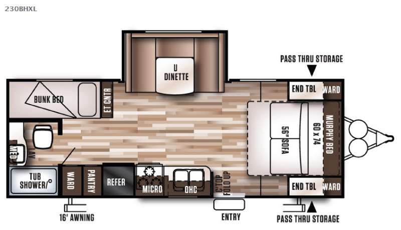 Wildwood X Lite Travel Trailer Rv Sales 23 Floorplans