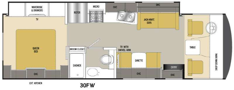 New 2016 Coachmen Rv Pursuit 30 Fw Motor Home Class A At
