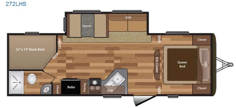 Motorhomes For Sale Under 20000 >> New 2016 Keystone RV Hideout 272LHS Travel Trailer at Moore's RV Inc. | N Ridgeville, OH | #5888
