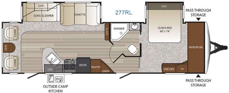 Travel Trailer Floor Plans With Slide Outs | www.pixshark