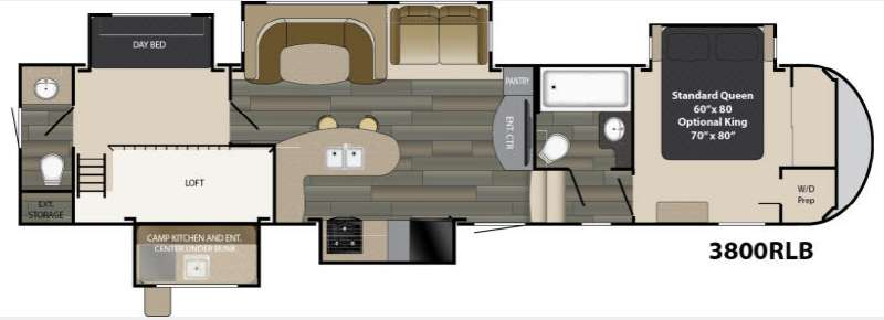 New 2017 Heartland Gateway 3800rlb Fifth Wheel At Wilkins