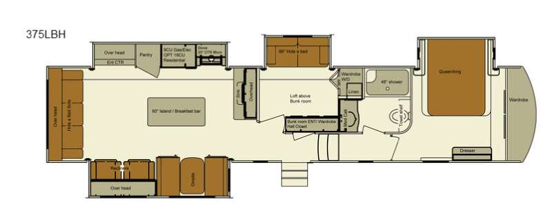 Used 2017 EverGreen RV Bayview 375RLBH Fifth Wheel at Campers Inn ...
