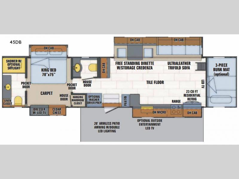 Haulmark motorhome floor plans thefloors co for Motor home plans