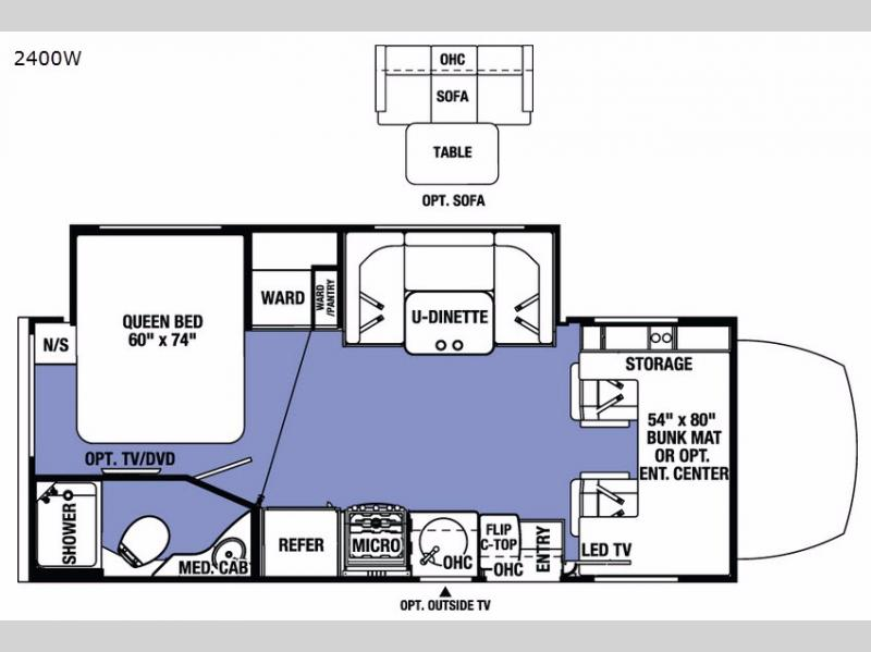 New 2017 Forest River RV Sunseeker MBS 2400W Motor Home