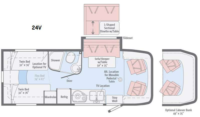 New 2016 itasca navion 24v motor home class c diesel at lichtsinn floorplan title swarovskicordoba Image collections