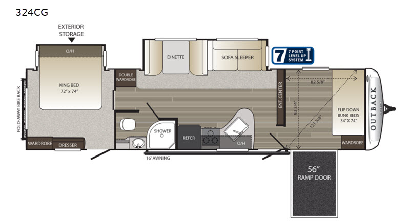 New 2019 Keystone RV Outback 324CG Toy Hauler Travel Trailer Keystone Rv Thermostat Wiring Diagrams on heat pump thermostat diagram, honeywell thermostat installation diagram, rv thermostat replacement, rv thermostat duo therm air conditioner, home thermostat diagram, hvac thermostat diagram, thermostat connection diagram, rv thermostat wiring color code, rv wall thermostat, circuit diagram, how a thermostat works diagram, rv comfort coleman mach thermostat, 3 wire thermostat diagram, rv thermostat cover, rv ac thermostat wiring, rv wiring schematics, rv furnace thermostat wiring, rv air conditioning diagram, rv refrigerator diagram, rv thermostat upgrade,