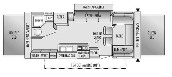 Used 2004 Jayco Jay Feather EXP 23 B Expandable at General ... Jayco Featherlite B Wiring Diagram on