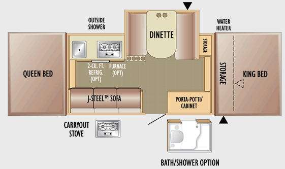 Used 2010 Jayco Jay Series 1206 Folding Pop-Up Camper at ... Jayco Wiring Diagram on