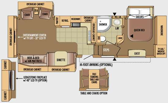 Used 2010 Jayco Eagle 321RLTS Fifth Wheel at General RV ... Jayco Eagle Rv Wiring Diagrams on