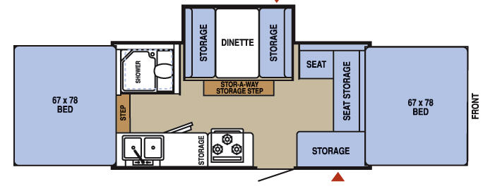 Used 2007 Starcraft Centennial 3608 Folding Pop-Up Camper at ... Jayco Rlts Wiring Diagram on
