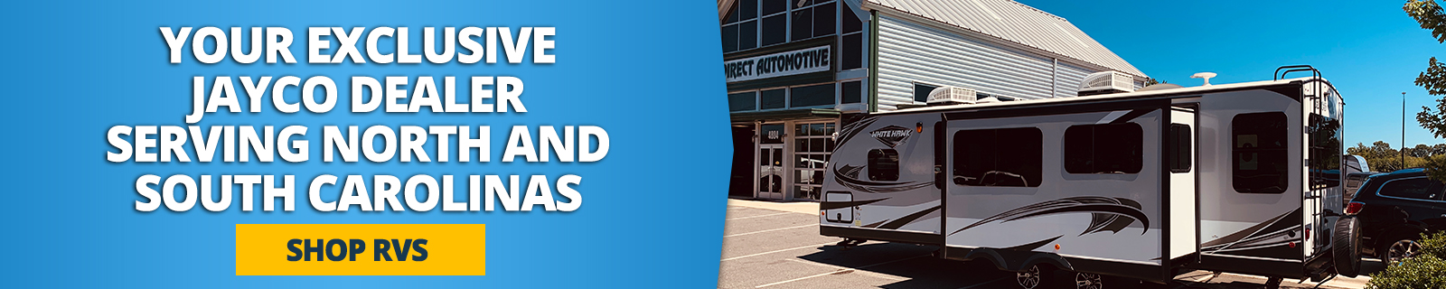 Your Jayco Dealer serving north and south carolinas