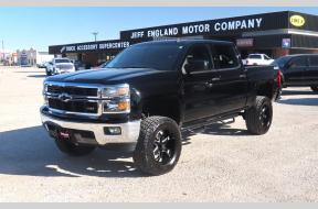 Used 2014 Chevy 1500 LT Z71 Crew Cab Lifted 4x4 Photo