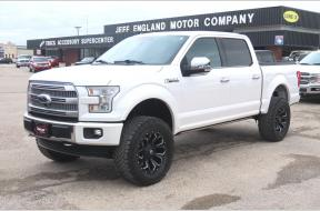 Used 2015 Ford F150 Platinum Lifted Crew Cab FX4 Photo