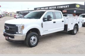 Used 2019 Ford F350 XL Crew Cab 4x4 Utility Bed DRW Photo