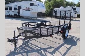 Used 2020 Carry-On Trailer Utility Trailer 5.5ft x 9ft Photo
